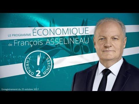 Chrono 2 minutes - Le programme économique de François Asselineau (UPR)