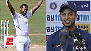 Mayank Agarwal credits long distance running after sensational 215 | India vs. South Africa
