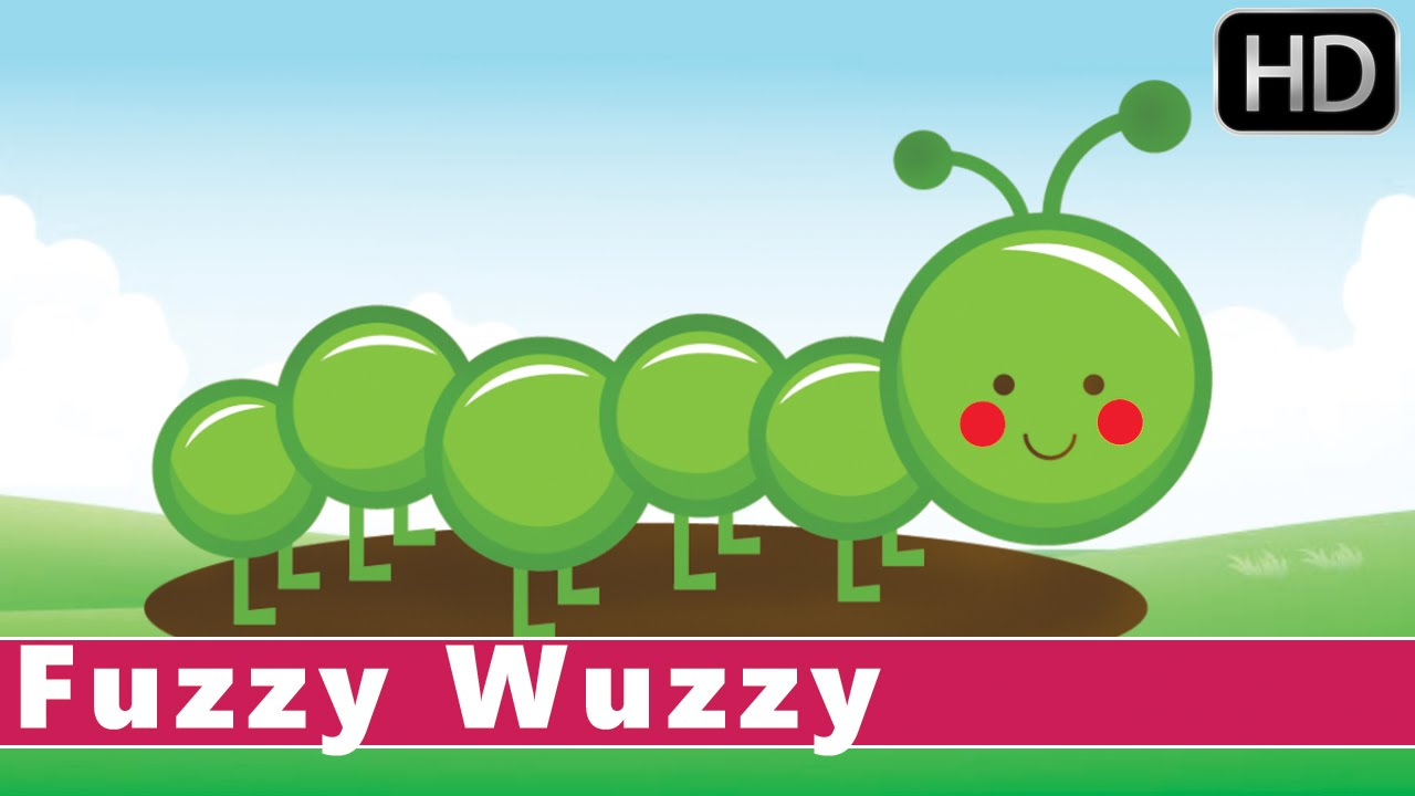 fuzzy wuzzy caterpillar life cycle of a butterfly animation