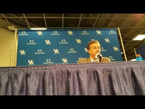 John Calipari Arkansas Post Game