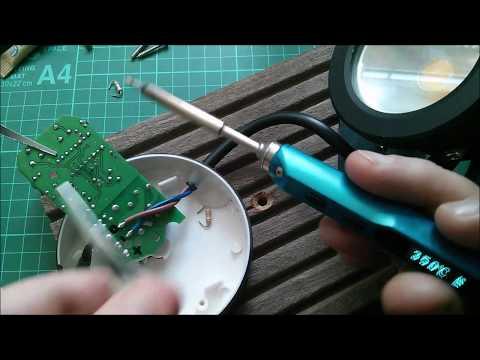 Making a PIR Sensor Less Sensitive - YouTube