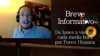 Breve informativo - Noticias Forex del 13 de Septiembre 2017