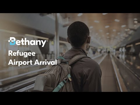 Refugee Airport Arrival