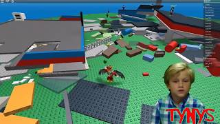 ROBLOX NATURAL DISASTERS IM NUR SURVIVOR FLYING IN THE SKY LIKE A GOD