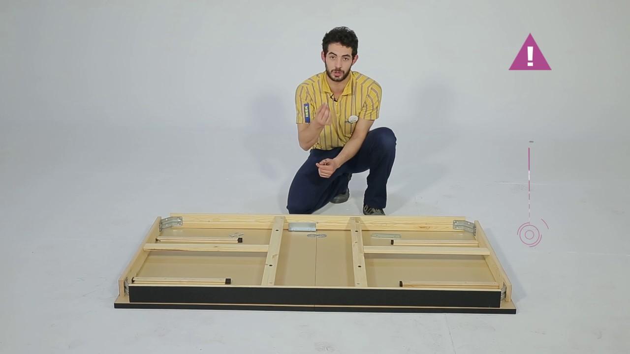 Instrucciones De Montaje De La Mesa Bjursta Ikea Youtube