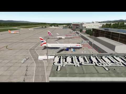 [X-Plane 10] VATSIM FF B767 Geneva to Berlin