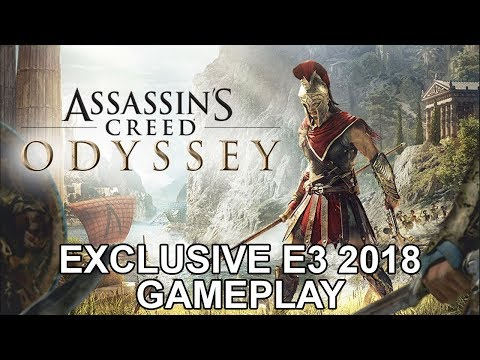 Assassins Creed Odyssey  Exclusive E3 2018 Gameplay  DanQ8000