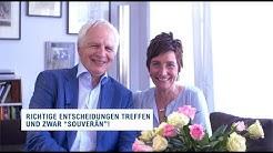 """Richtige Entscheidungen treffen und zwar """"souverän""""! -  Theo Bergauer"""