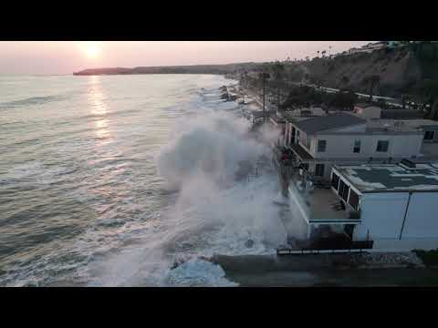 Big waves, high tides batter beaches and homes in Orange County