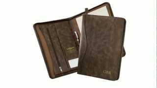 Tresenda President Zippered Leather Portfolio - Myron Corporation