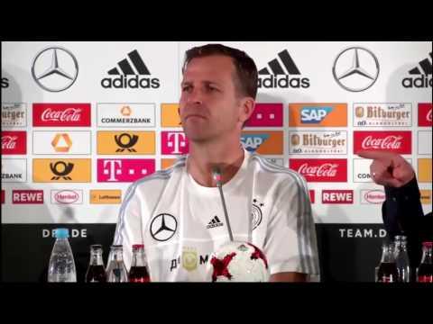 DFB PK mit Oliver Bierhoff, Joshua Kimmich & Julian Brandt - 16/06/17