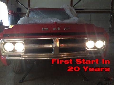 1968 GMC First Start In 20 Years!!!