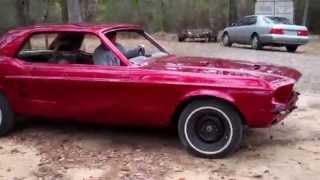 1967 Ford Mustang Brandywine Kandy Custom Paint
