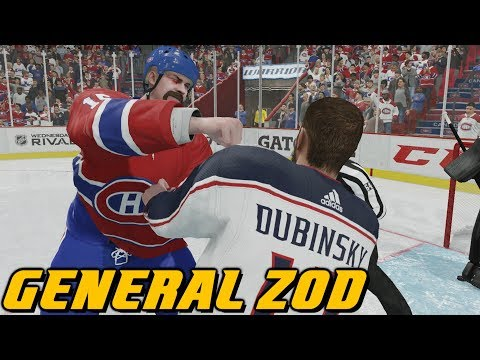BELL CENTRE IS ZOD'S FORT - NHL 18 - Be A Pro ep. 6