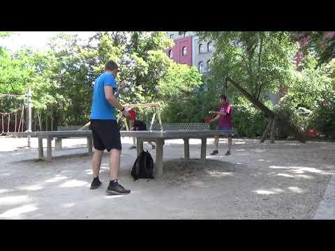 Tischtennis An Der Frauenschule Fuerth  Mit Den Steinb     An Der Steinplatte 20190619  27