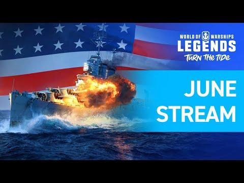 [EN] World Of Warships: Legends   June Update & Developer Q&A Session