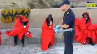Ascienden a 148 migrantes los rescatados de tres pateras este domingo en el mar de Alborán