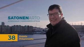 Arto Satonen - Perinteitä kunnioittaen, vastuuta kantaen. (Full length)