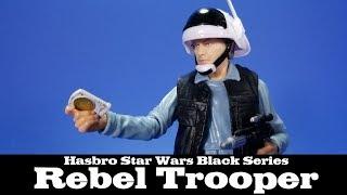 Star Wars Black Series Rebel Trooper Hasbro Review