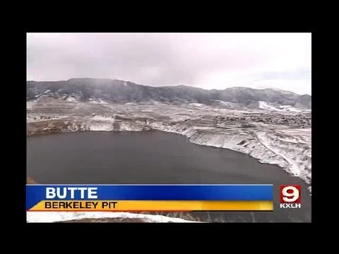 Corner of Berkeley Pit sloughing away, some residents concerned