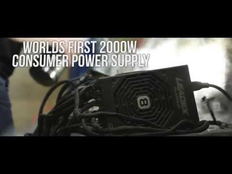 8PACK 2000W Power Supply - Powered by Superflower