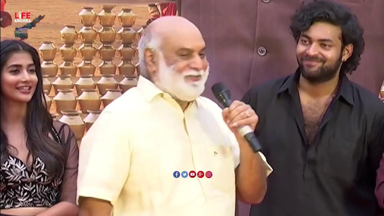 Director Raghavendra Rao making Hilarious Fun With Pooja Hegde    Varun Tej    Life Andhra Tv
