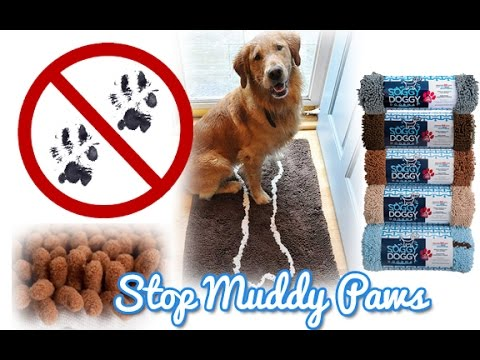 Soggy Doggy Doormats Keep Wet Or Muddy Paw Prints Off The Floor