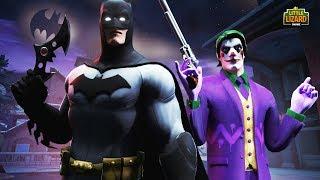 WHO RULES GOTHAM CITY? - Fortnite X BATMAN