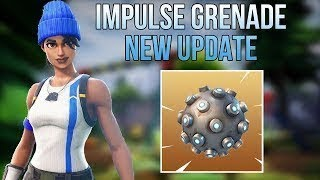 Fortnite *NEW* IMPULSE GRENADE & SHRINES (Sub Goal 7.9k - 10k) #FreeDomGang - Live Gameplay