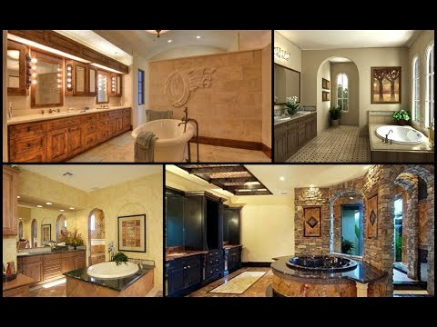 10+ Tuscan bathroom design ideas p1