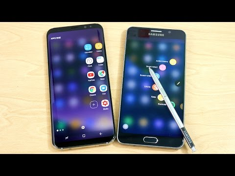 Galaxy S8 Plus vs Galaxy Note 5! - Speed Test!