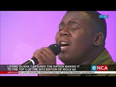 Loyiso Gijana performs Nontsikelelo