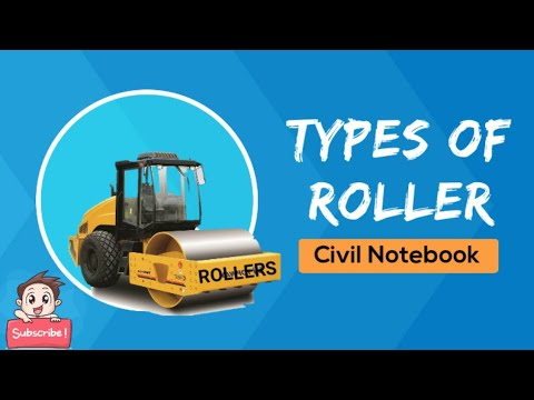 Types Of Rollers For Compaction | Different Types Of Rollers | Rollers |