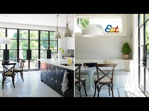 Interior Design - Classic Bistro-Style Kitchen Packed With Storage