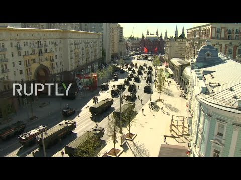 LIVE: Military parade heads to Red Square for Victory Day