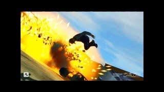 GTA 4 - Трюки, Аварии и Приколы! [#18]