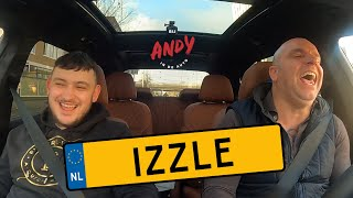 Izzle - Bij Andy in de auto! (English subtitles)