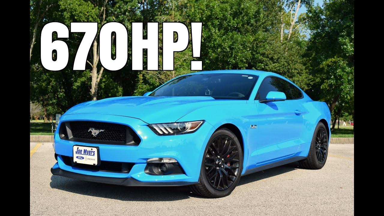2017 Ford Mustang Gt W Roush Supercharger Driving Review 670hp