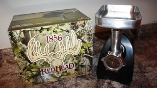 Redhead Meat Grinder Review and Demonstration Bass Pro Shops
