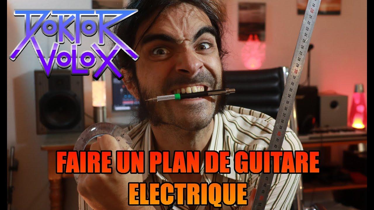 Download comment faire un plan de guitare électrique! tuto lutherie pour fabrication de guitare ou basse