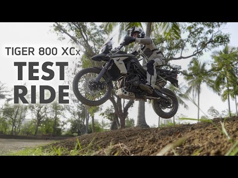 2018 Triumph Tiger 800 XCx Demo Ride