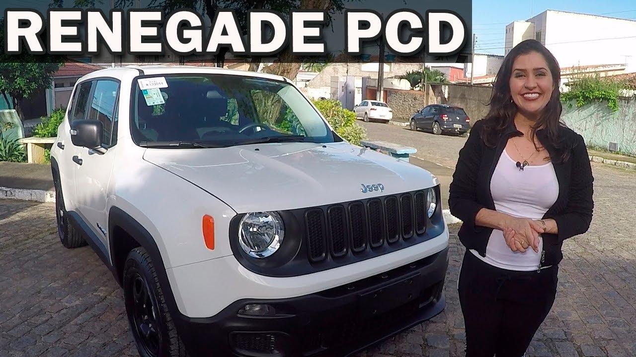 Jeep Renegade Pcd 2018 Em Detalhes Com Giu Brandao Youtube