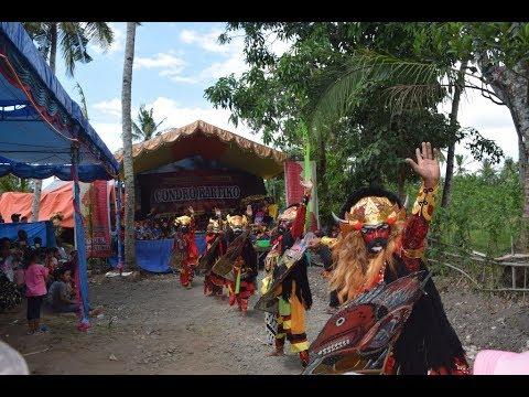 Kuda Lumping Buto Condro Kartiko Tegaldlimo Banyuwangi di Ringinpitu,Jaranan Seni Campursari 2018