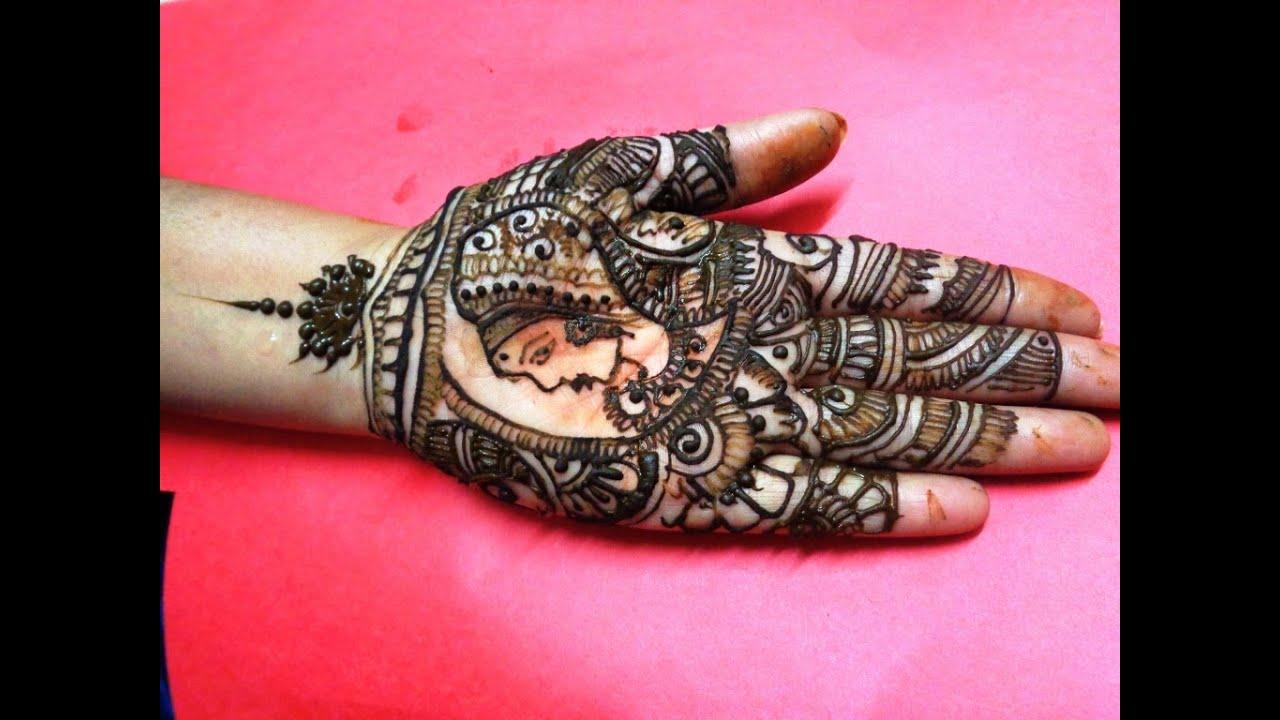 Mehndi Designs For Dulha : New latest dulhan mehndi design youtube