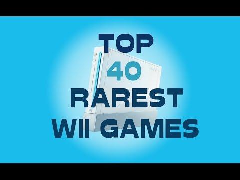 Top 40 RAREST Wii Games!