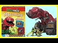 DINOTRUX MEMORY MATCH GAME with Ty Rux! Fun Board Games YouTube Video For Kids