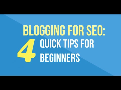 Blogging for SEO: 4 Quick Tips for Beginners | LoSoMo, Inc.