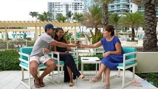 Интервью для Miami Baby.KZ от Сабита и Гульзары   Роды в Майами