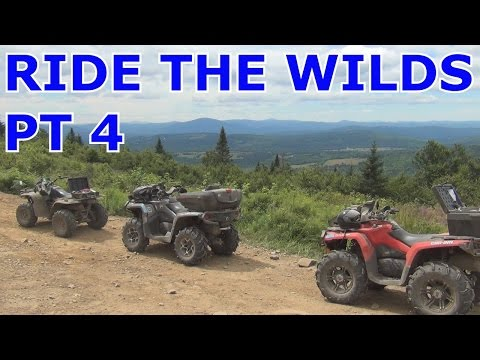 RIDE THE WILDS...VT...NH...PART 4 SUGAR MOUNTAIN...WIND TOWERS