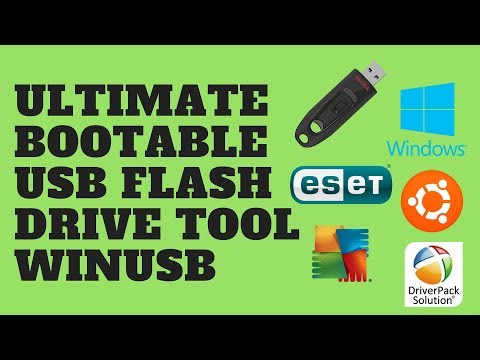 Ultimate Bootable USB Flash Drive Tool WinUSB